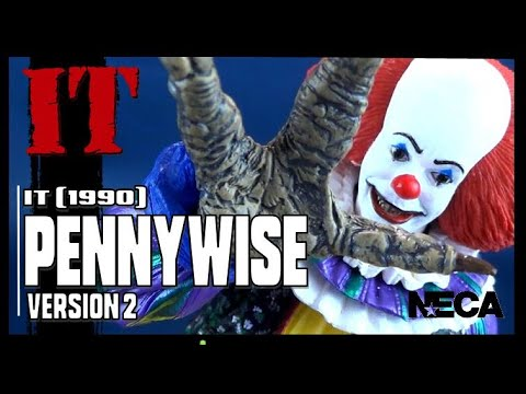 NECA It 1990 Ultimate Pennywise Version 2 | Video Review