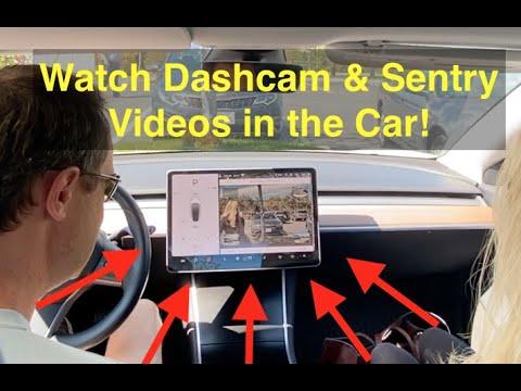 Tesla Software Update 2020.12. 5 With Dashcam Viewer