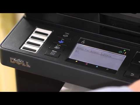Dell 1355cnw Multifunction Color Laser Printer