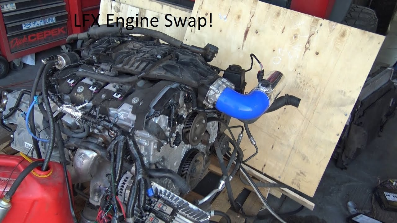 small resolution of lfx engine swap youtube lfx engine wiring harness