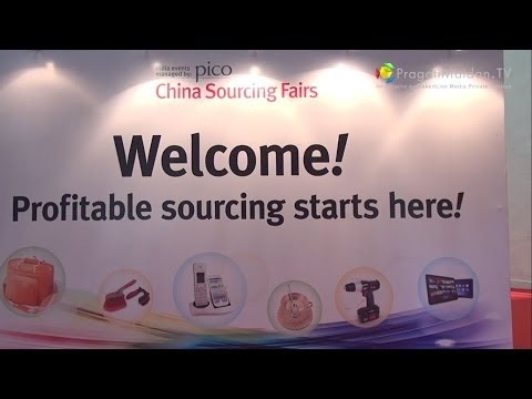 China Sourcing Fair 2013 : Pragati Maidan , New Delhi , India