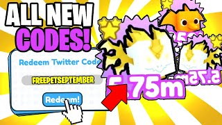 *4 CODES* ALL WORĶING CODES FOR PET SIMULATOR X 2021! ROBLOX PET SIMULATOR X CODES