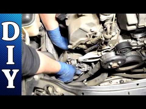 how-to-remove-and-replace-an-alternator---mercedes-c240-c320-e320-clk320-ml320-v6