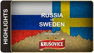 Russia crushed Tre Kronor | Russia-Sweden HL | #IIHFWorlds 2016