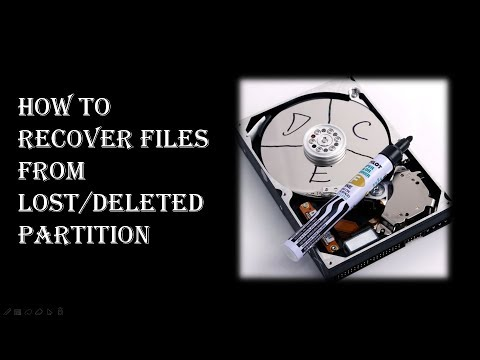 Partition Recovery| How to Recover Files from Lost Deleted Partition