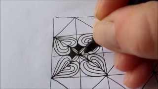 How to draw tanglepattern Bumpkenz