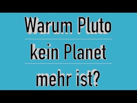 warum ist pluto kein planet mehr