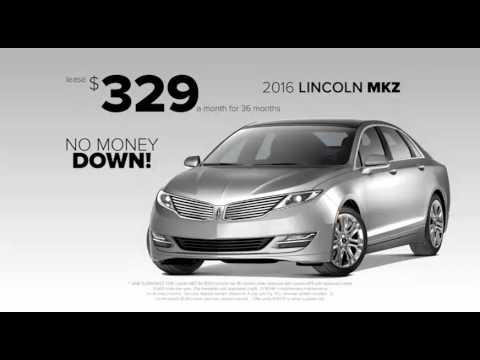 Nick Mayer Lincoln Mkz And Mkc Lease Deals