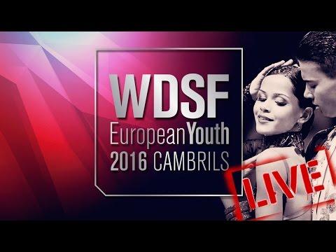 2016 European Youth Latin   The Quarterfinal   DanceSport Total