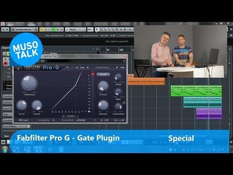 Top VST Plugin -  Fabfilter Pro G - Gate Plugin nicht nur für Cubase