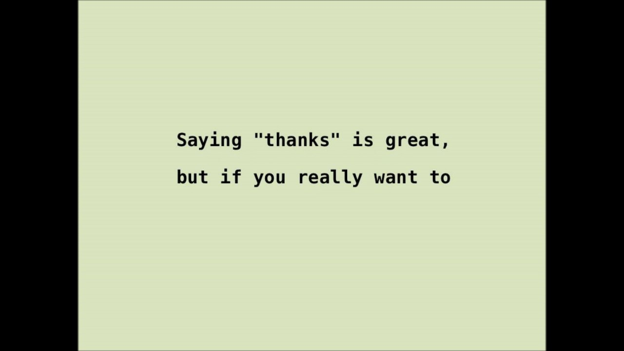 11 ways to show appreciation express gratitude for others youtube