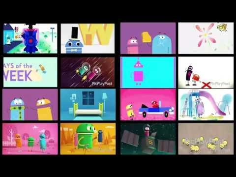 black background vs storybots song