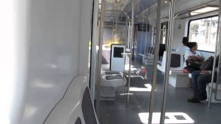 Riding the Supervia train in the suburbs of Rio de Janeiro between Triagem and São Cristovão
