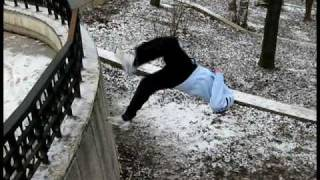 Best of Parkour & Free Running Romania 2008
