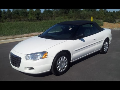 Sold 2005 Chrysler Sebring Convertible For 2 4 44k Auto Wilson County Motors Lebanon Tn