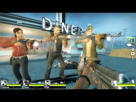 Left 4 Dead 2 - Roadkill Custom Campaign Multiplayer Gameplay Walkthrough