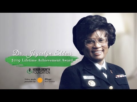 2019 LifetimeAchievement Award Dr. Joycelyn Elders