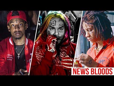 5 Rappers de Gangues II - Bloods - Nova Geração   Daniels Junior