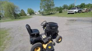 review of the craftsman pro series 7800 42 20 hp v twin kohler hydrostatic riding mower