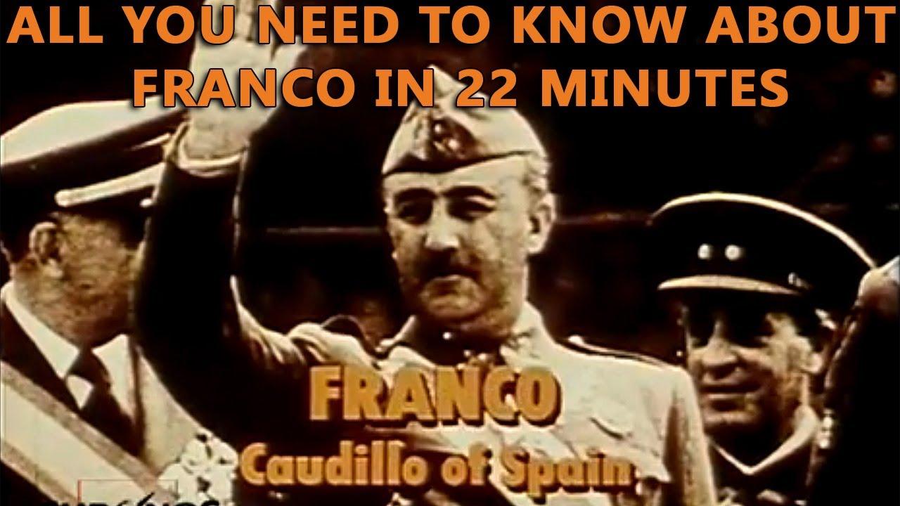 franco caudillo of spain youtube