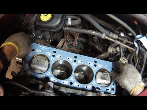 Dodge Plymouth Chrysler 2.4L Head Gasket&Timing Belt - Part 1 Disassemble