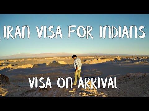IRAN VISA FOR INDIANS - VISA ON ARRIVAL & TOURIST VISA