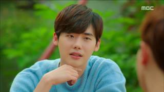 [Weightlifting Fairy Kim Bok Ju] 역도요정 김복주 ep.02 Lee Jong-suk appeared at restaurants 20161117