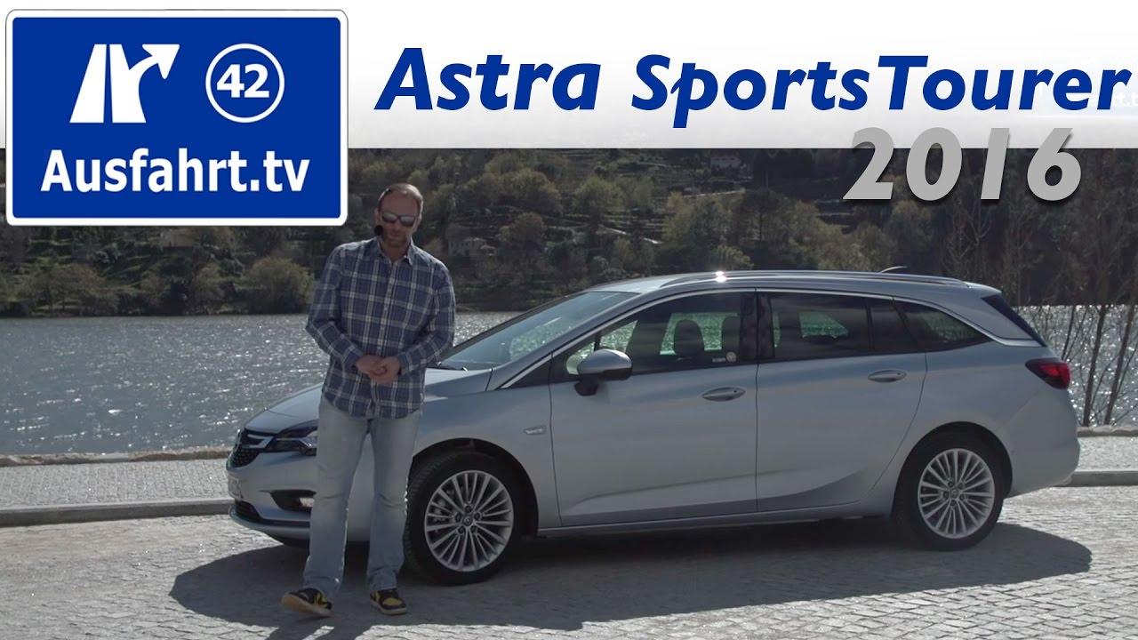 2016 opel astra k sports tourer 1.6 cdti - fahrbericht der