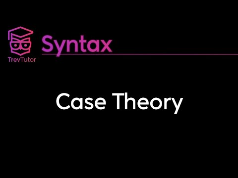 [Syntax] Case Theory