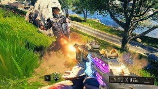 WHEN GRAPPLING INTO AN ENEMY BARRICADE GOES RIGHT   Black Ops 4 Blackout
