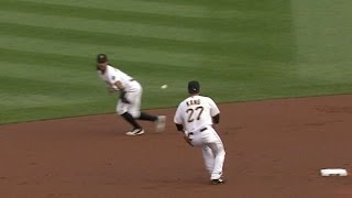 8/7/15: Alvarez hit walk-off single to lift Pirates