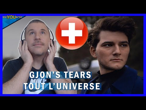 SWITZERLAND: Gjon's Tears -  Tout l'Univers REACTION (Switzerland Eurovision 2021)