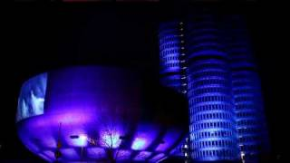 video projection of bmw welt and bmw museum for the launch of bmw i
