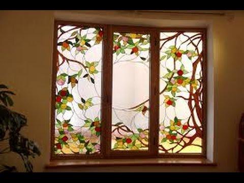 Стекло в дизайне интерьера – витражи и цветное стекло