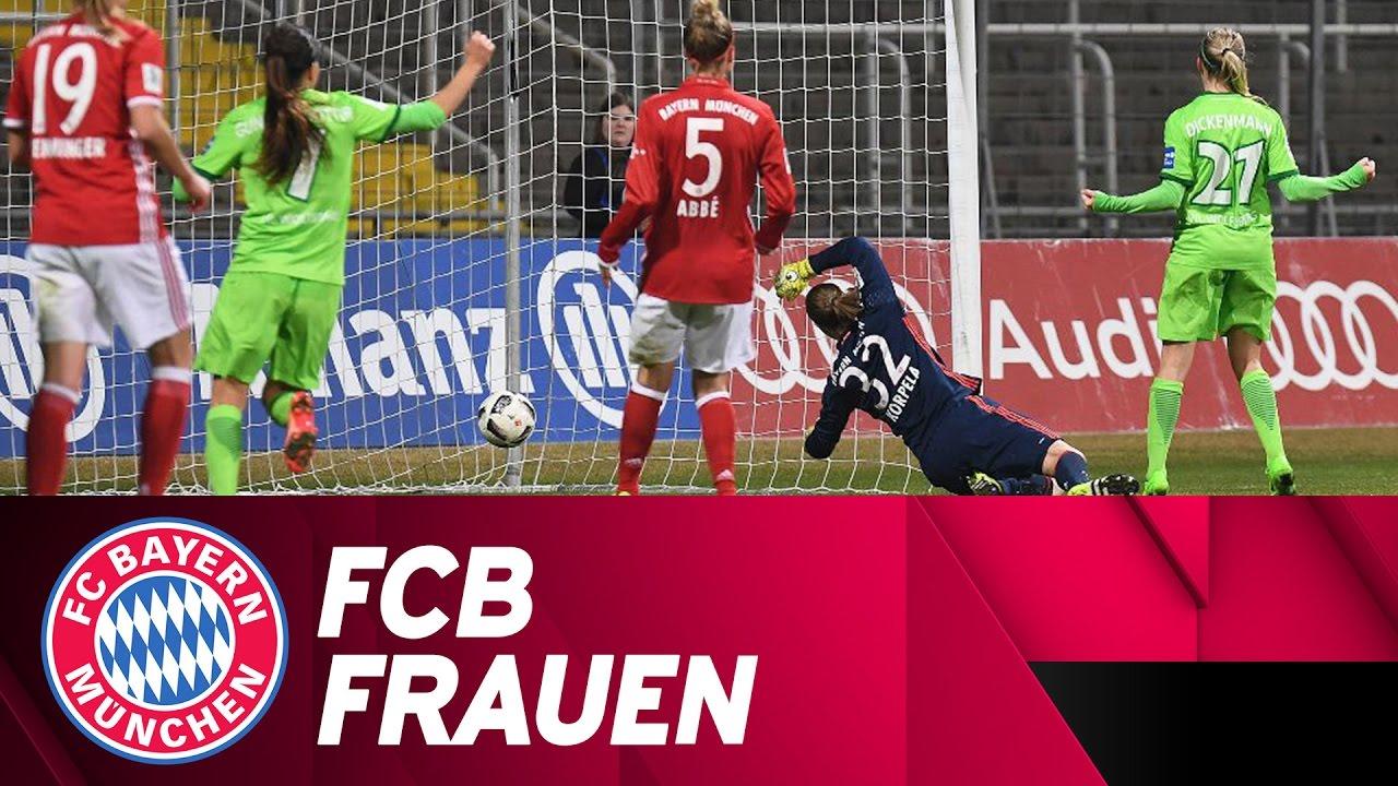 FCB-Frauen - VfL Wolfsburg 0:2   Highlights DFB-Pokal ...