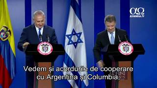 Premierul israelian Benjamin Netanyahu face o vizita istorica in America Latina