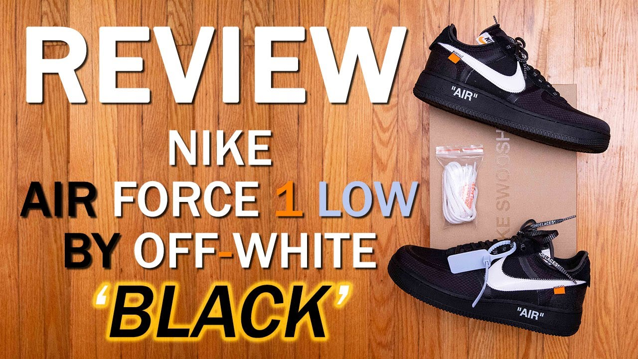 The 10 Nike Air Force 1 Low By Off White Black Review And On