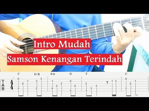 Intro Mudah Samson Kenangan Terindah Tutorial Gitar