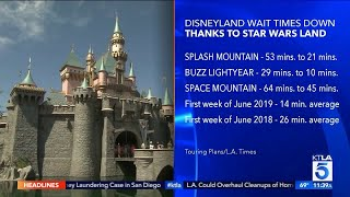 Star Wars Attraction Leads to Shorter Wait Times Elsewhere at Disneyland