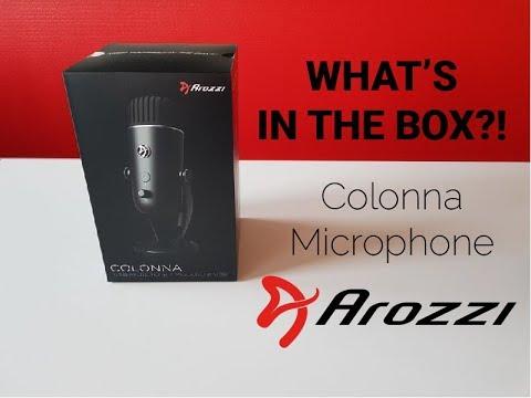 Arozzi Colonna Mikrofon Sort KomplettBedrift.no