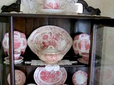 Home Decor Decorating with Antique Transferware & Toile