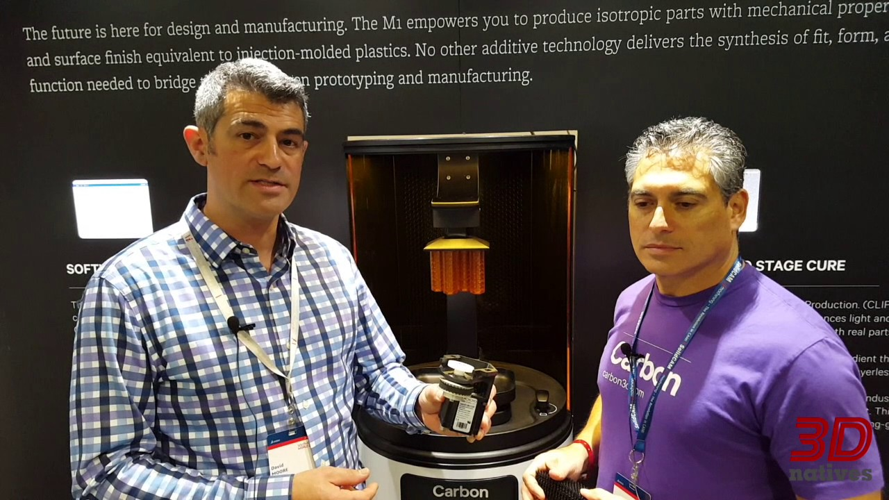 The 3D Carbon Printer at Solidworks World 2017
