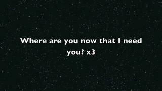 Where are you now Justin Bieber lyrics on screen