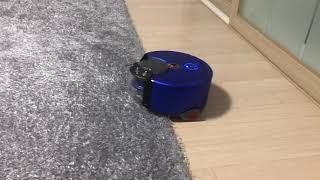 다이슨 로봇청소기 카펫넘기 (Dyson 360 heur…