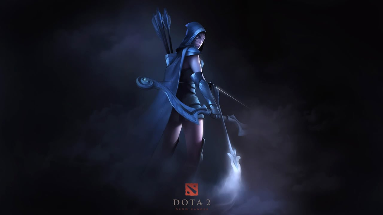 Drow Ranger Dota 2 Immortals: Dota 2: TI6 New Effect For Drow Ranger