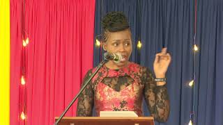 Caren Wakoli's Speech During The 2019 Annual St .Andrews Turi Speech Day