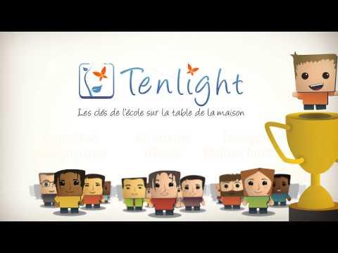Vidéo Tenlight, le site d'accompagnement pédagogique des parents du primaire.