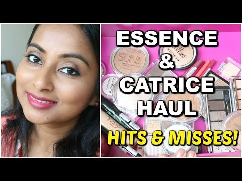 Catrice & Essence Haul | Hits & Misses | Affordable Drugstore makeup | Mini reviews