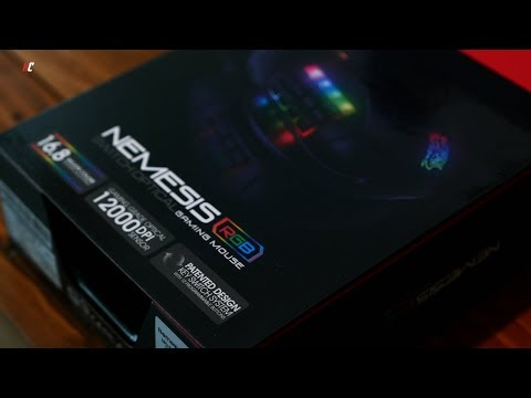 UNBX: Nemesis Switch Optical Gaming Mouse!! 12000 DPI!!