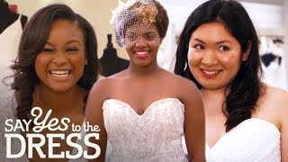 Brides Bust Their Budgets To Try On Dream Dresses | Say Yes To The Dress